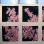Print installation of 100 unique pieces, 0.60 × 0.60 m (each)