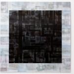 Lenticular print on aluminum composite, 0.90 × 0.90 m