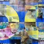 Lenticular print on aluminum composite, 1.10 × 1.10 m