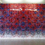 Site specific digital print installation, 9.00 x 4.30 m