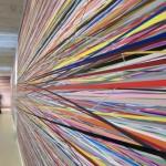 Site specific print installation, 40 x 3.40 m