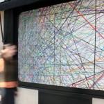 Site specific print installation,  5.00 x 1.90 m