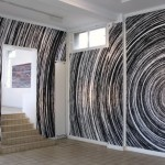 Site specific digital print installation, 15.00 m x 4.30 m