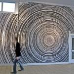 Site specific digital print installation, 15.00 m x 4.30 m