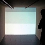 Site specific installation with 1 videoprojector, Sound track: Thanos Chrysakis, Video software: Claude Micheli
