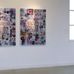 Lenticular mounted on alu-dibon, 2 panels:  0.90 x 1.20 m each