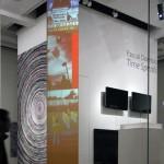 Site specific video installation , Video software: Claude Micheli