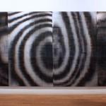 Lenticular print on aluminum composite, 4.40 × 1.80 m (4 panels)