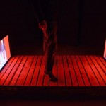Site specific video installation with 2 screens