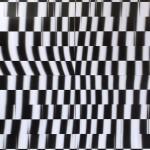 Lenticular print on aluminum composite, 2.20 × 2.20 m (4 panels)
