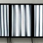 Video installation (3lenticular screens, 3 computers) 1.00 x 0.60 m