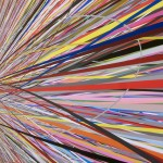 Site-specific wall print installation, pigment print on synthetic paper, 40 × 3.40 m