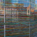 Pascal Dombis & Gil Percal / 5 printed glass panels, 6,00 x 2,80 m in total (each panel : 1,20 x 2,80 m)