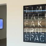 Installation view, Lenticular on digitally cut aluminum composite, 0.90 x 1.20 m
